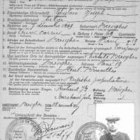 Certificat d'identité de la commune de Bierghe
