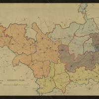 Carte du Kreis d'Arlon